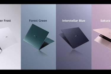 Huawei MateBook X、MateBook 14 AMD Ryzen发布,笔记本阵容再添生力军
