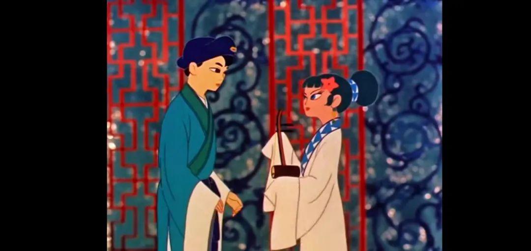 日本历史上首部长篇彩色动漫「白蛇传」,宫崎骏大师因此片投身动漫事业